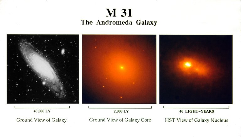 Hubble Space Telescope Finds a Double Nucleus in the Andromeda Galaxy