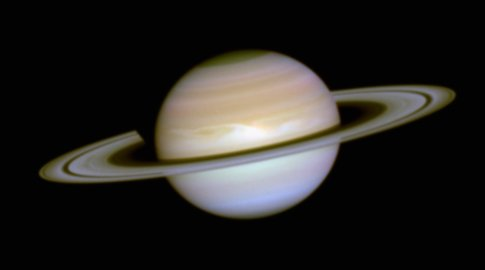 Hubble Provides the First Images of Saturn's Aurorae