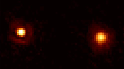 Hubble Separates Stars in the Mira Binary System