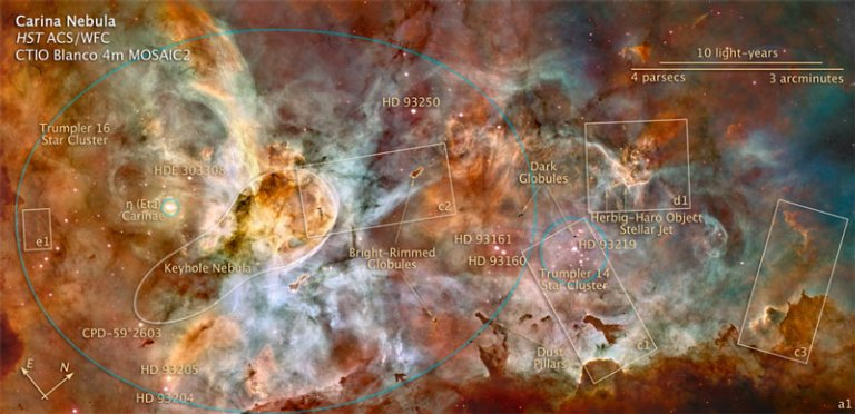 The Carina Nebula: Star Birth in the Extreme
