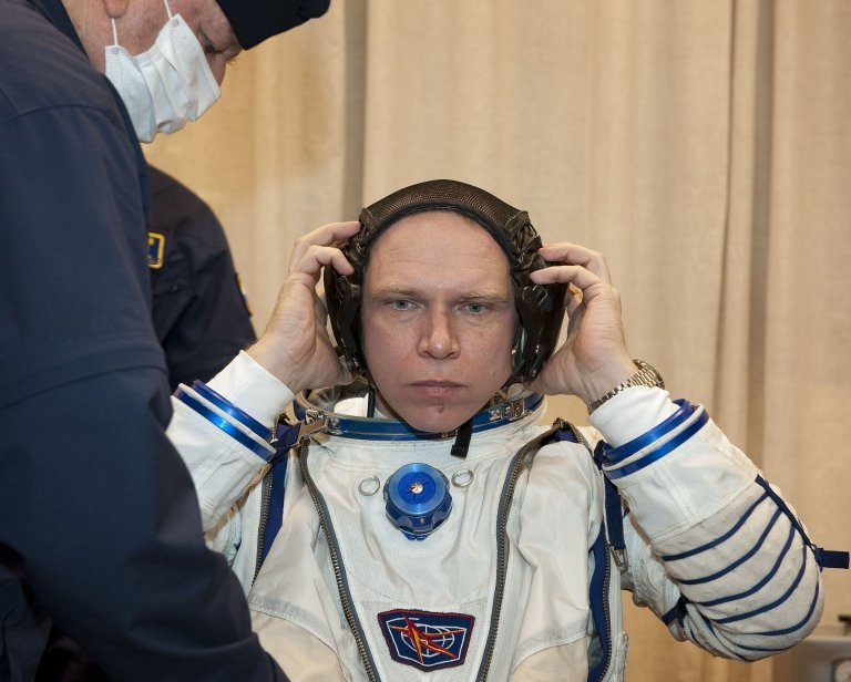 Expedition 22 Launch Day
