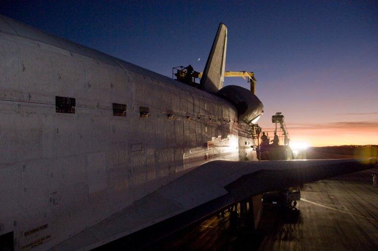 STS-126 landing