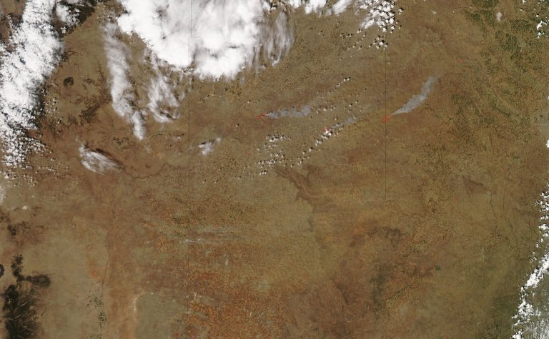 Fires in Texas Panhandle