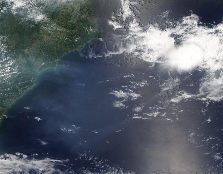 Haze off the U.S. East Coast