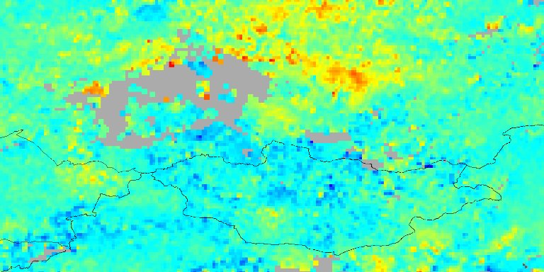 Carbon Monoxide over Eastern Russia