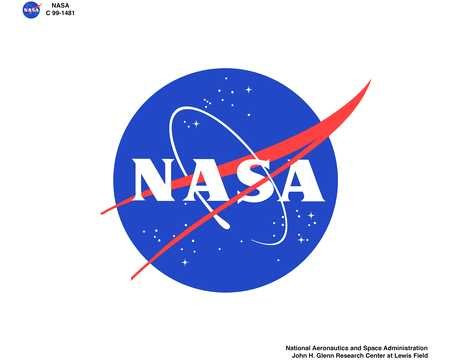 NASA INSIGNIA MEATBALL ON WHITE BACKGROUND CALIBRATED FOR DYE SUBLIMATION OUTPUT - STRICT USE RESTRICTIONS APPLY