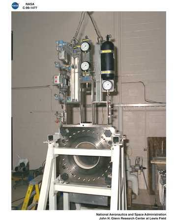 NASA PLUM BROOK STATION HYPERSONIC TUNNEL FACILITY SHUTTER VALVE TEST STAND