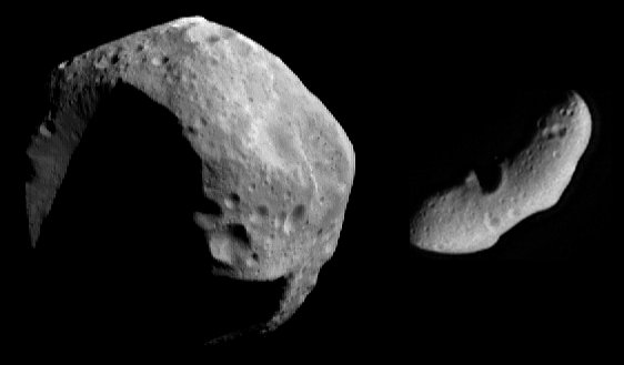 Two Very Different Asteroids