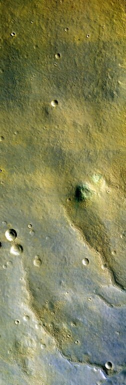 First Color HiRISE Image of Mars