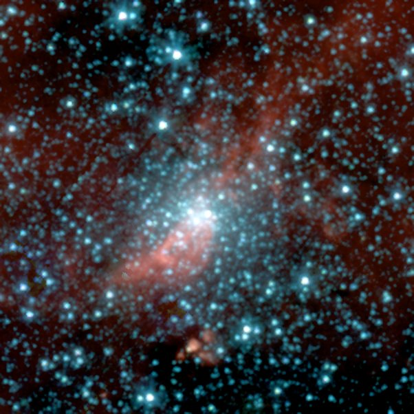 Spitzer Digs Up Galactic Fossil