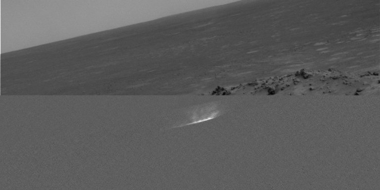 Gusev Dust Devil Movie, Sol 459 (Plain and Isolated)