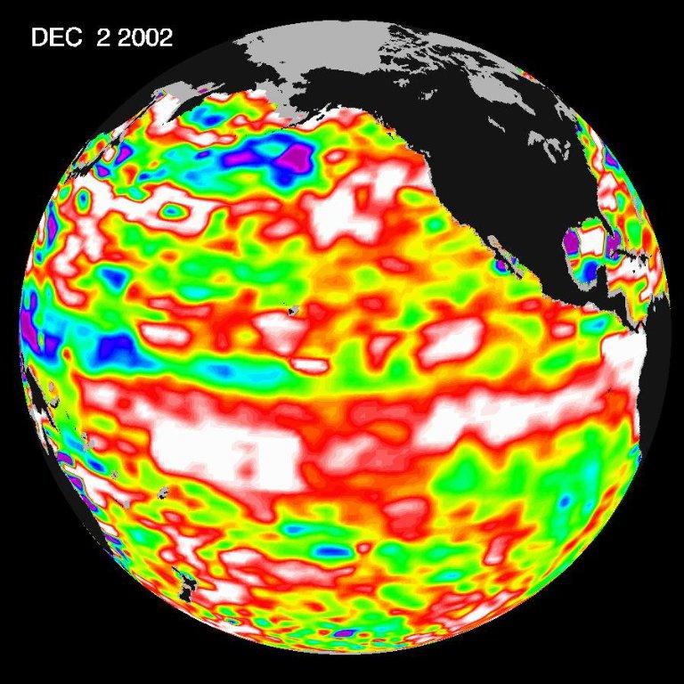 El Niño Continues to Grow