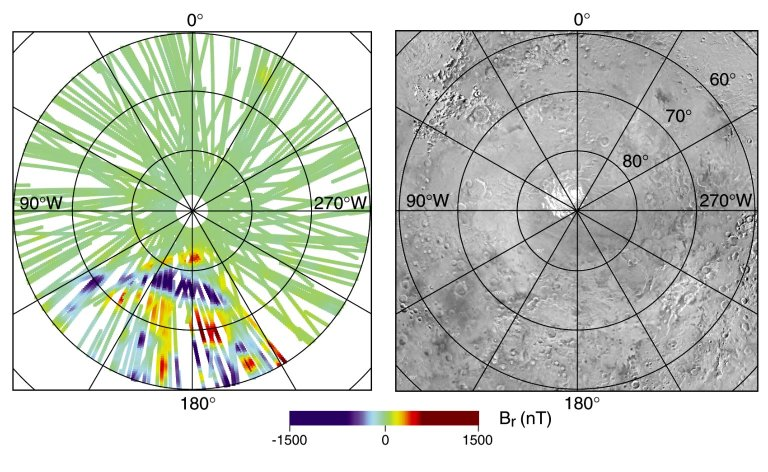 South Polar Magnetic Anomaly Map (MAG/ER)