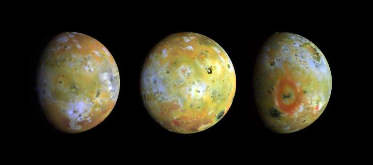 Three Views of Io