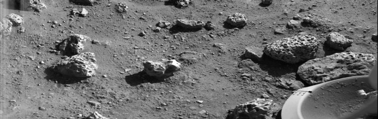 Viking Lander 2's First Picture On The Surface Of Mars