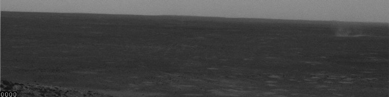 Gust and Dust at Gusev, Sol 495