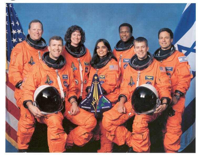 Official STS-107 Crew Photo