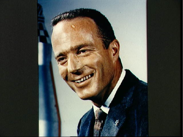 Portrait of Astronaut M. Scott Carpenter