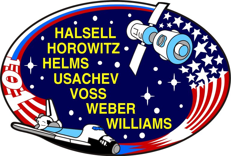 STS-101 Mission Insignia