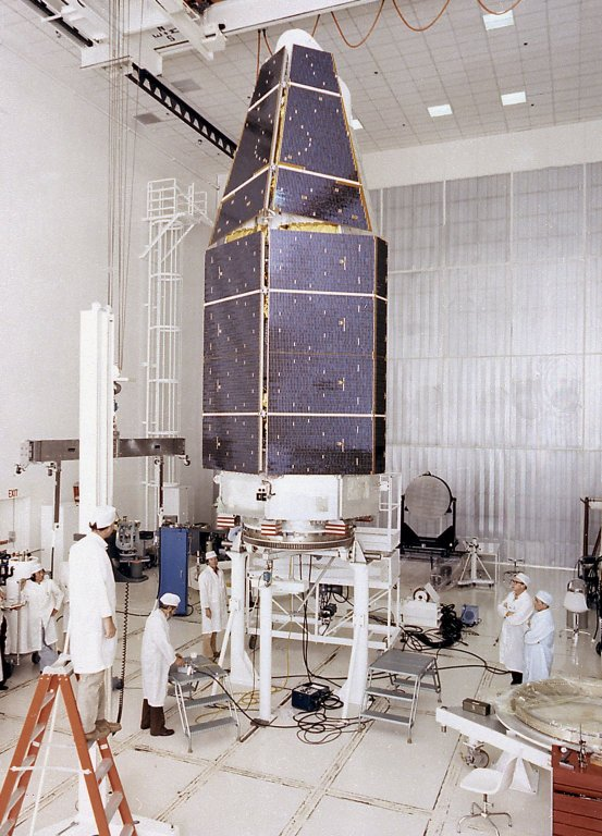 Assembly of the High Energy Astronomy Observatory (HEAO)-2