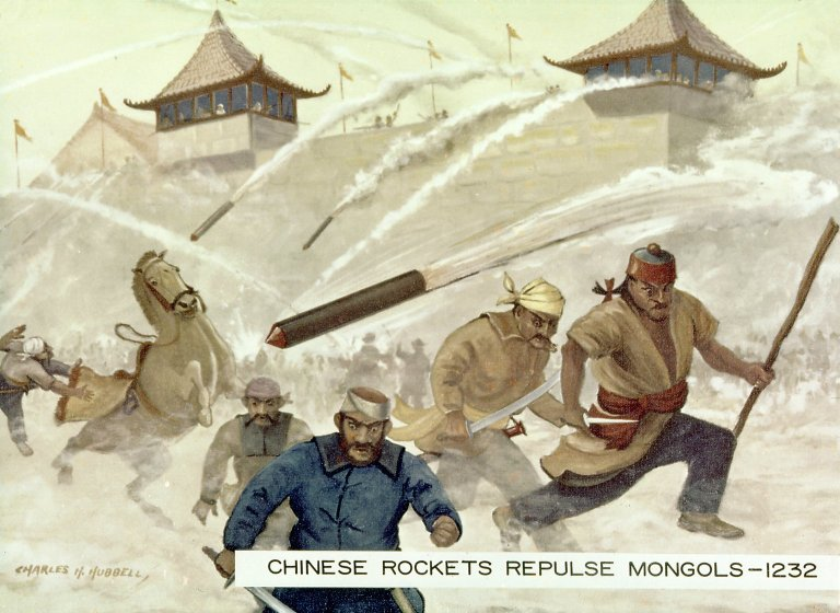 The Use of Rockets as Military Weapons at the Siege of Kai Fung Foo in 1232 A.D