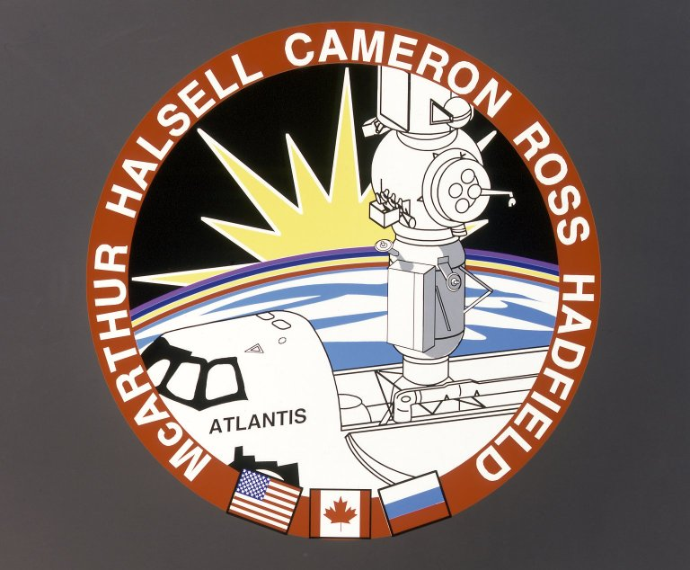 STS-74 Mission Insignia