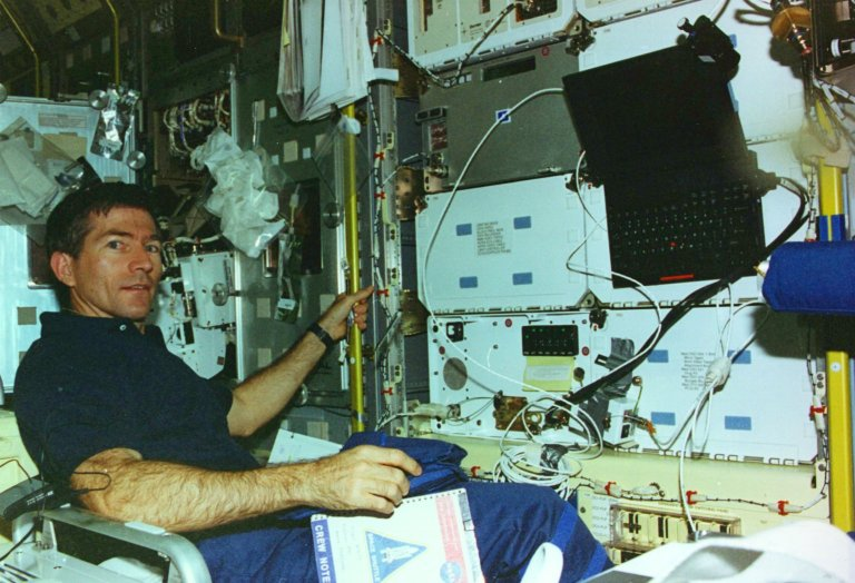 STS-73 Onboard Photo