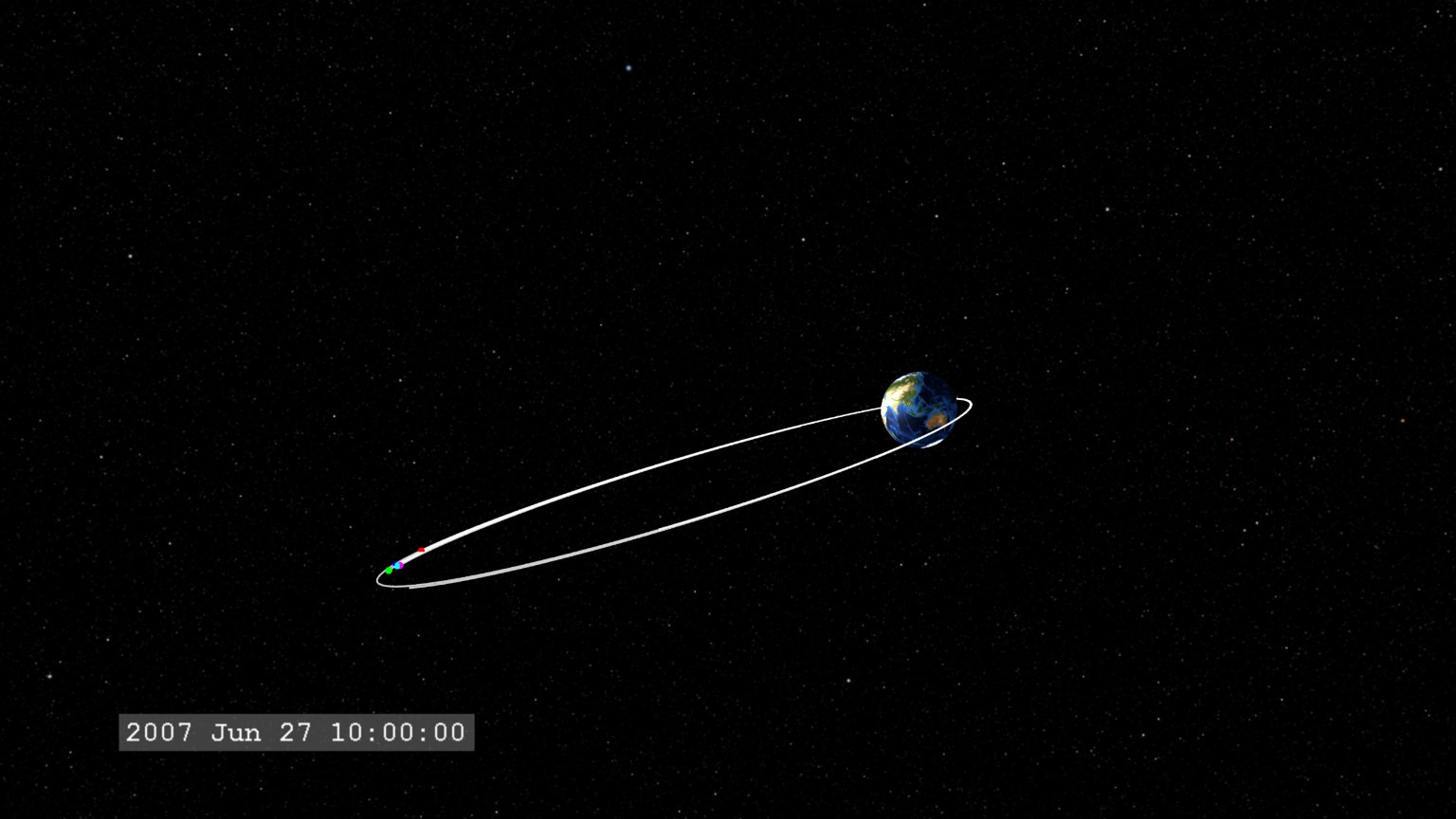 THEMIS explores the Earth's Bow Shock
