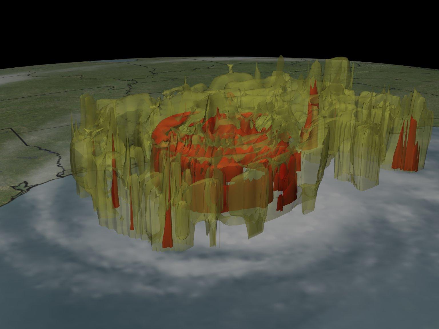 Hurricane Rita from TRMM: September 23, 2005