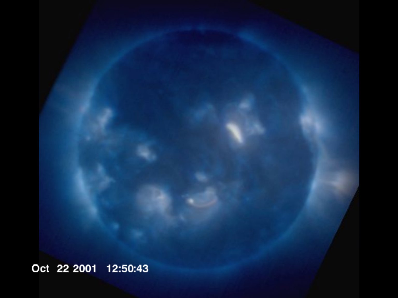 GOES/SXI views the Sun in X-rays (3 Channels)