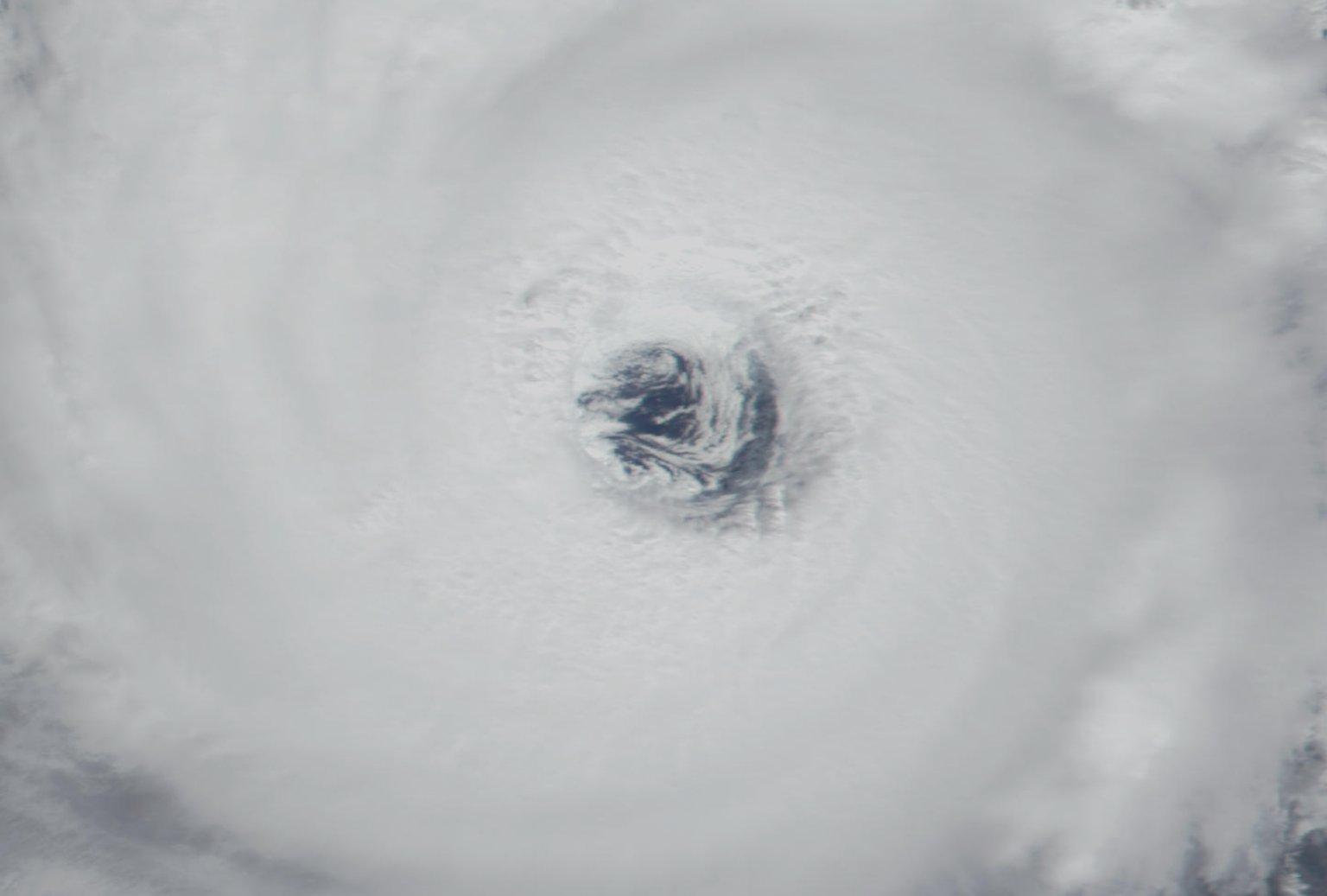 Hurricane Erin from MODIS: September 5, 2001