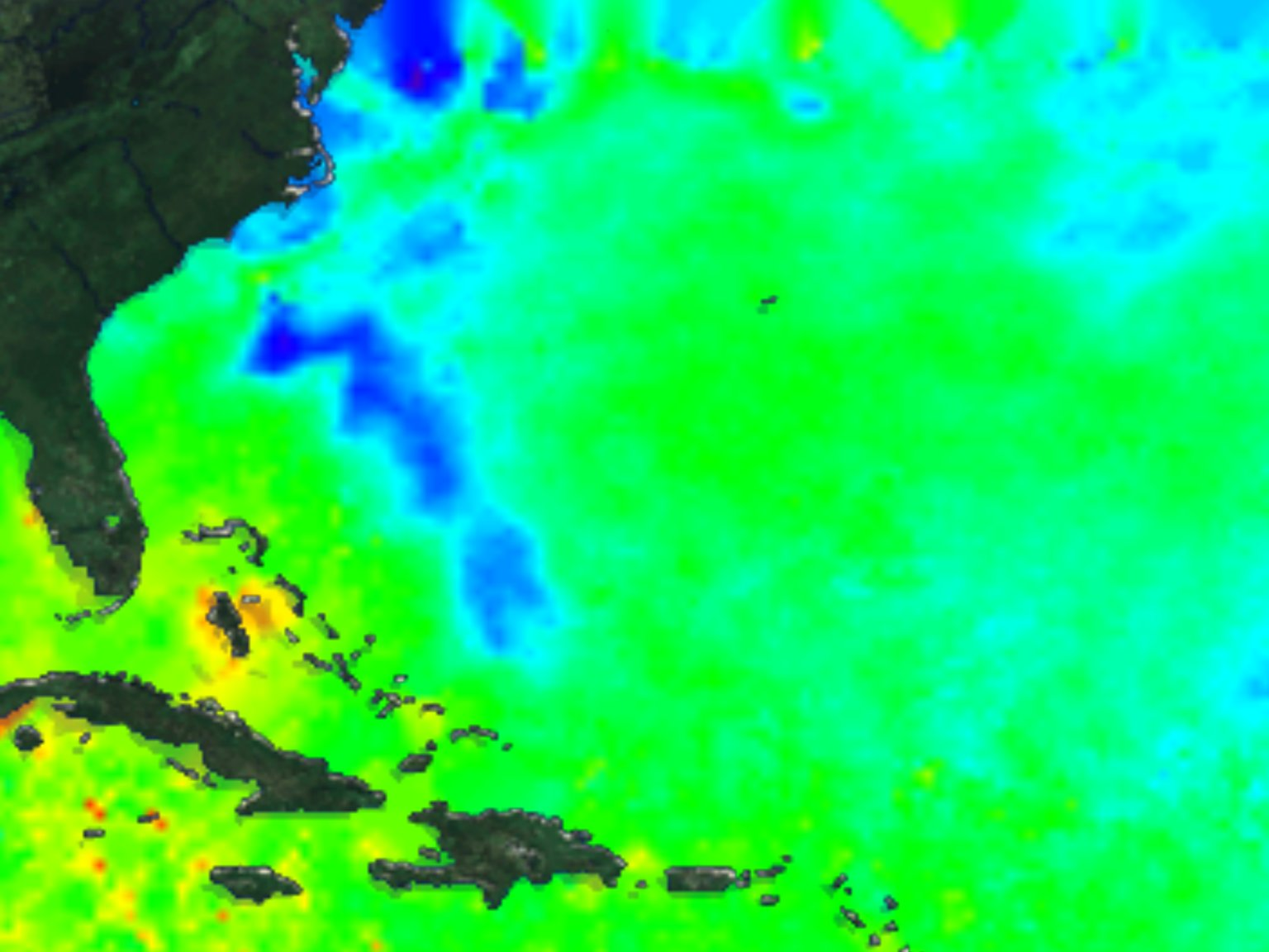 Sea Surface Temperature and Hurricane Connections: TRMM - August 22, 1998 through September 3, 1998
