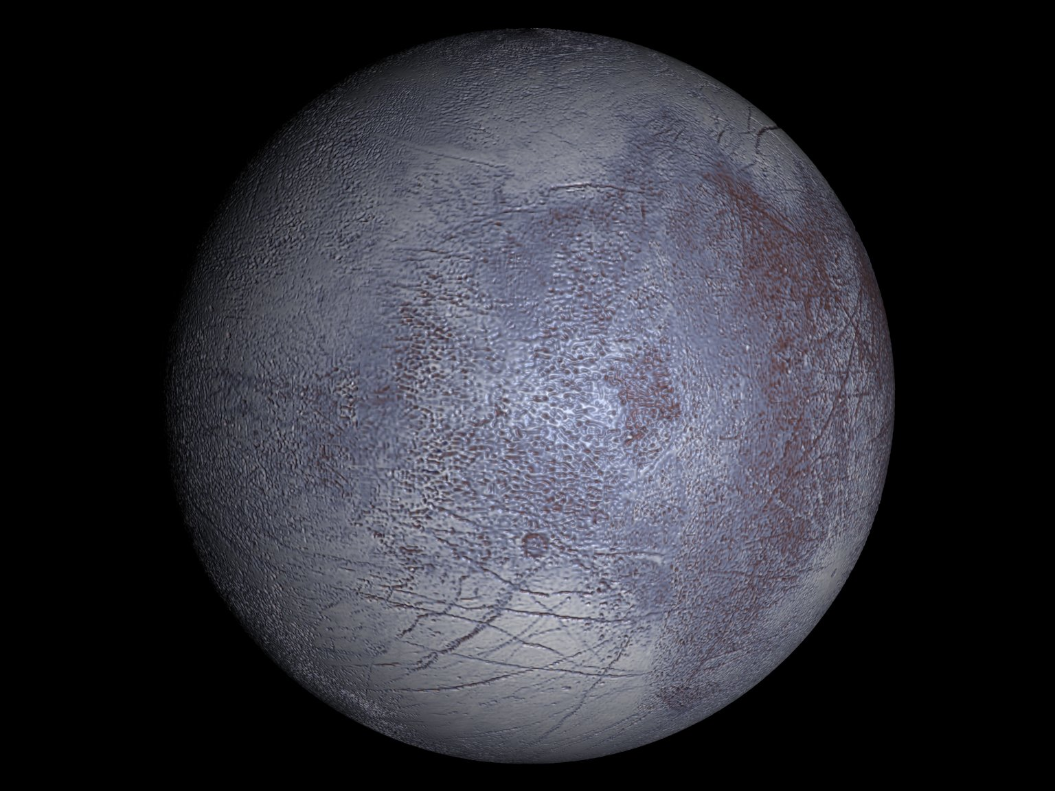 Europa's Synthetic Subsurface Heat Transport (Version 2)