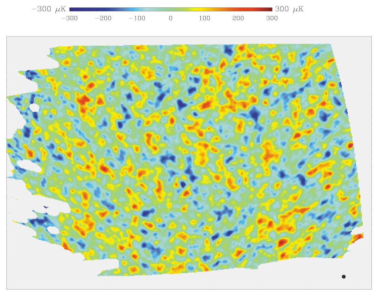 BOOMERANG MAP OF THE COSMIC MICROWAVE BACKGROUND