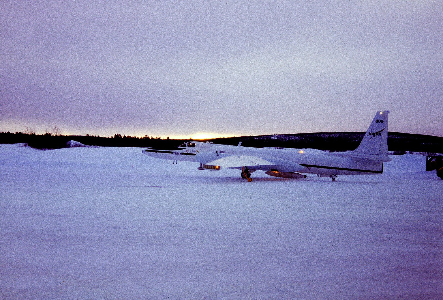 ER-2 USED IN ARCTIC OZONE RESEARCH