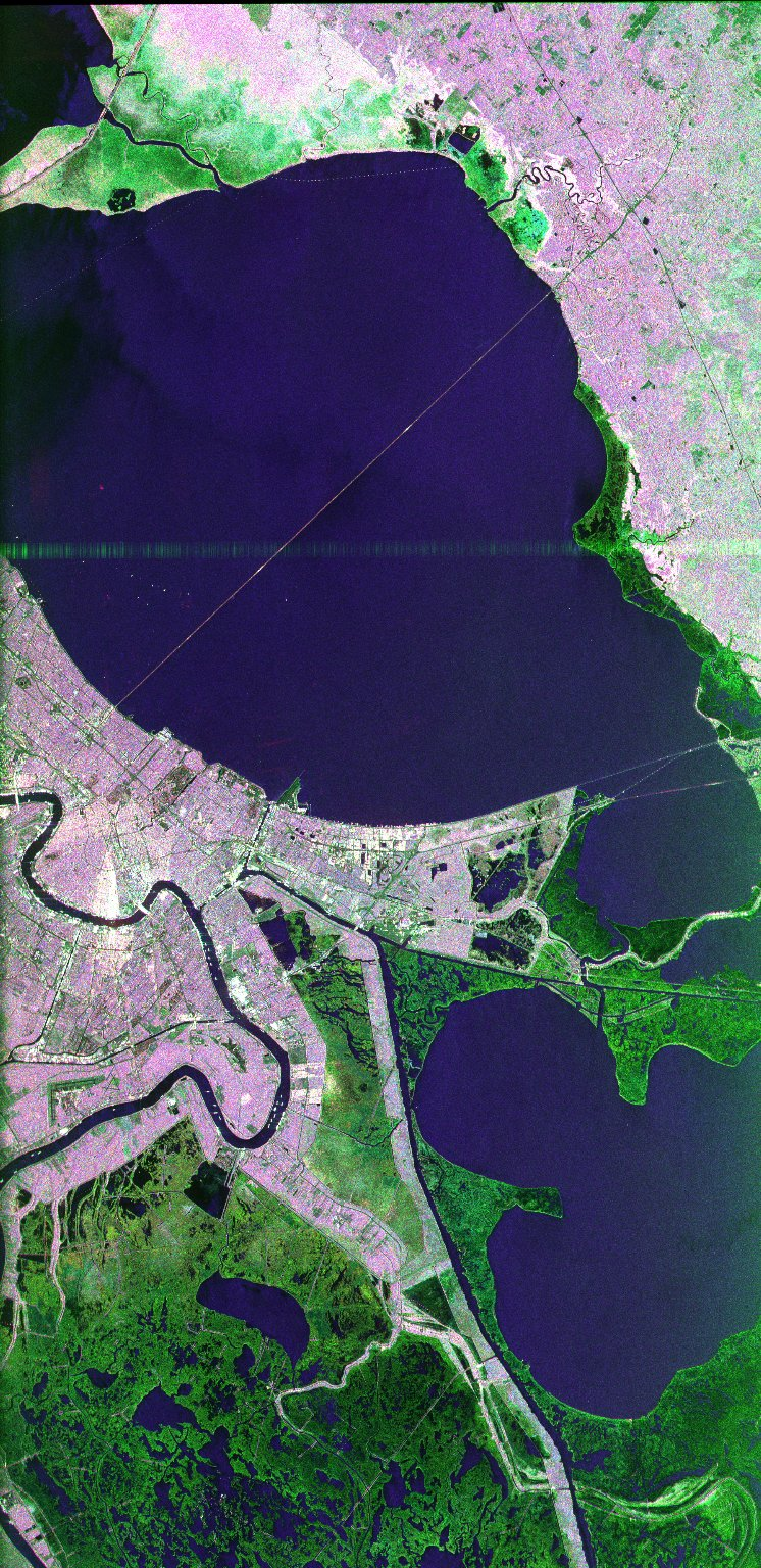 New Orleans, Louisiana L, C bands