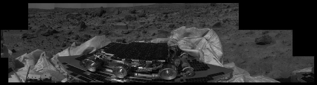 MRPS #80823 (Sol 1) Airbag retraction