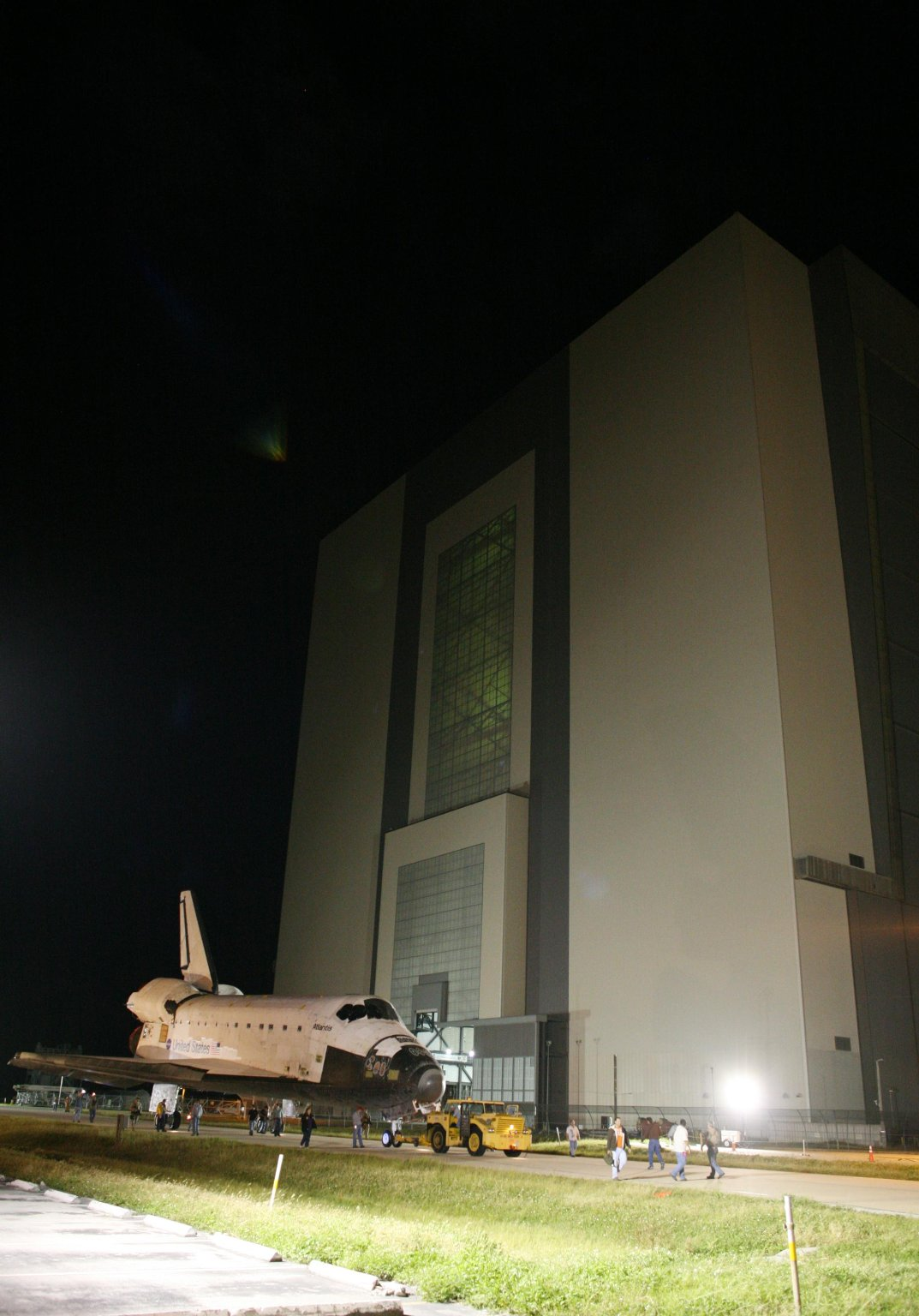 Leaving the VAB