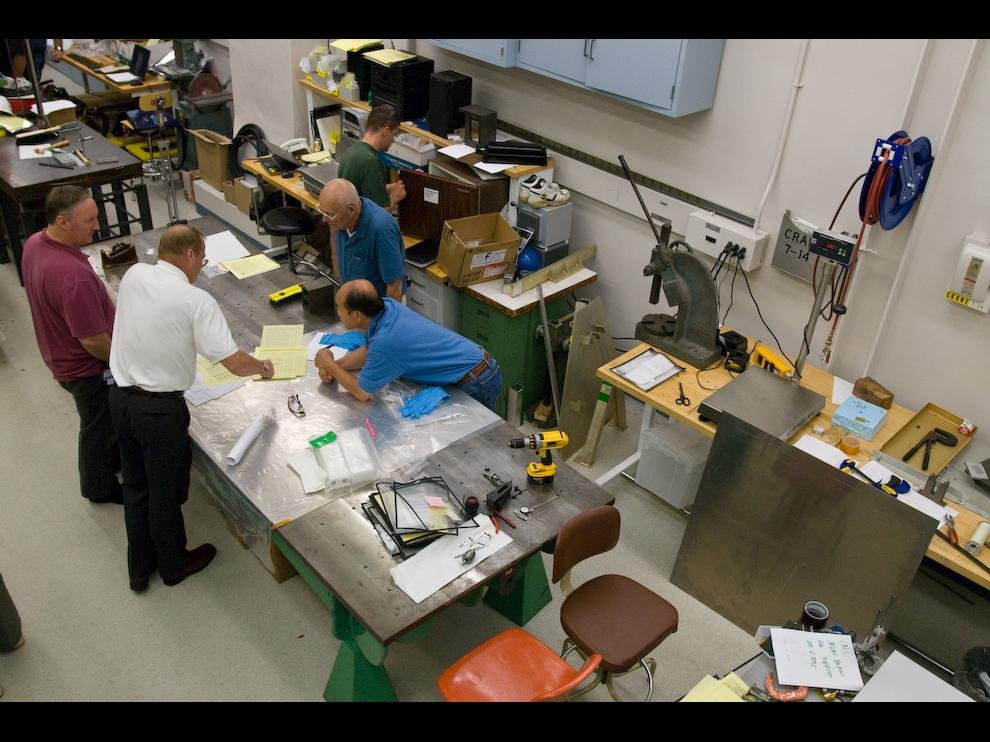 Engineering and Assembly Work Area
