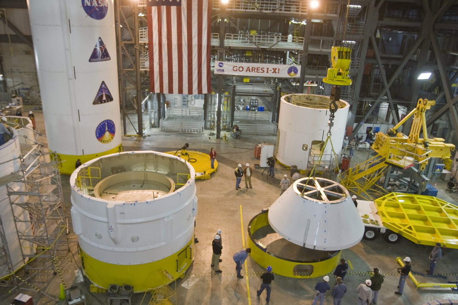 Ares 1-X LAS CM Project and Transfer To Kennedy Space Center