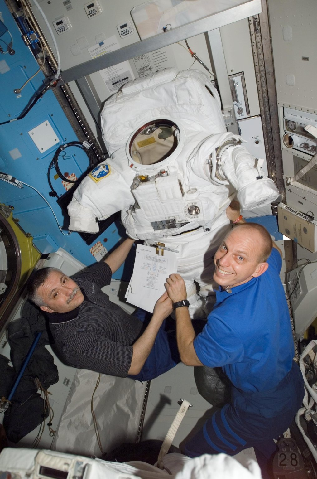Space Station -- July 2007