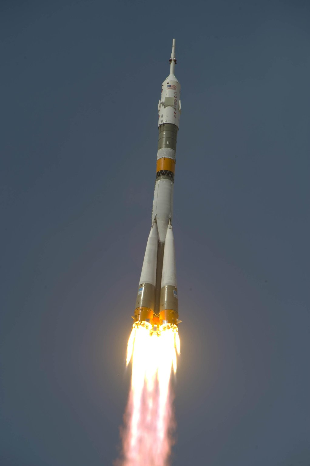 Expedition 20 Lifts Off