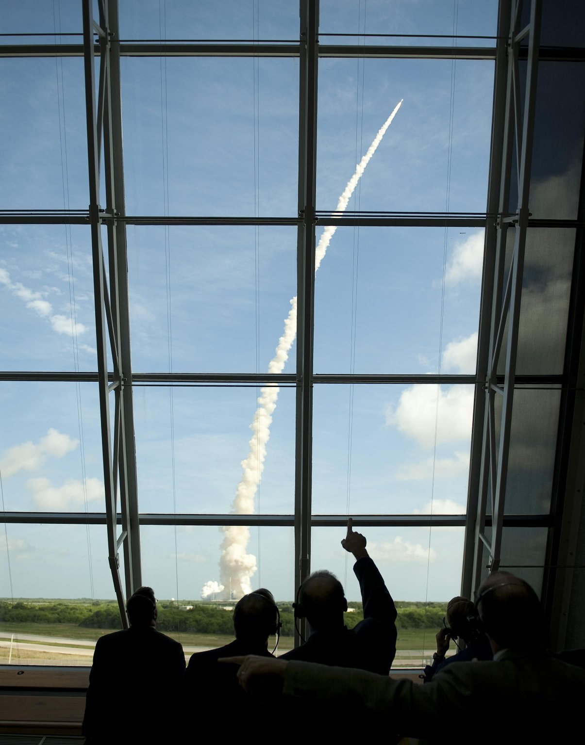 Ares I-X Lifts Off