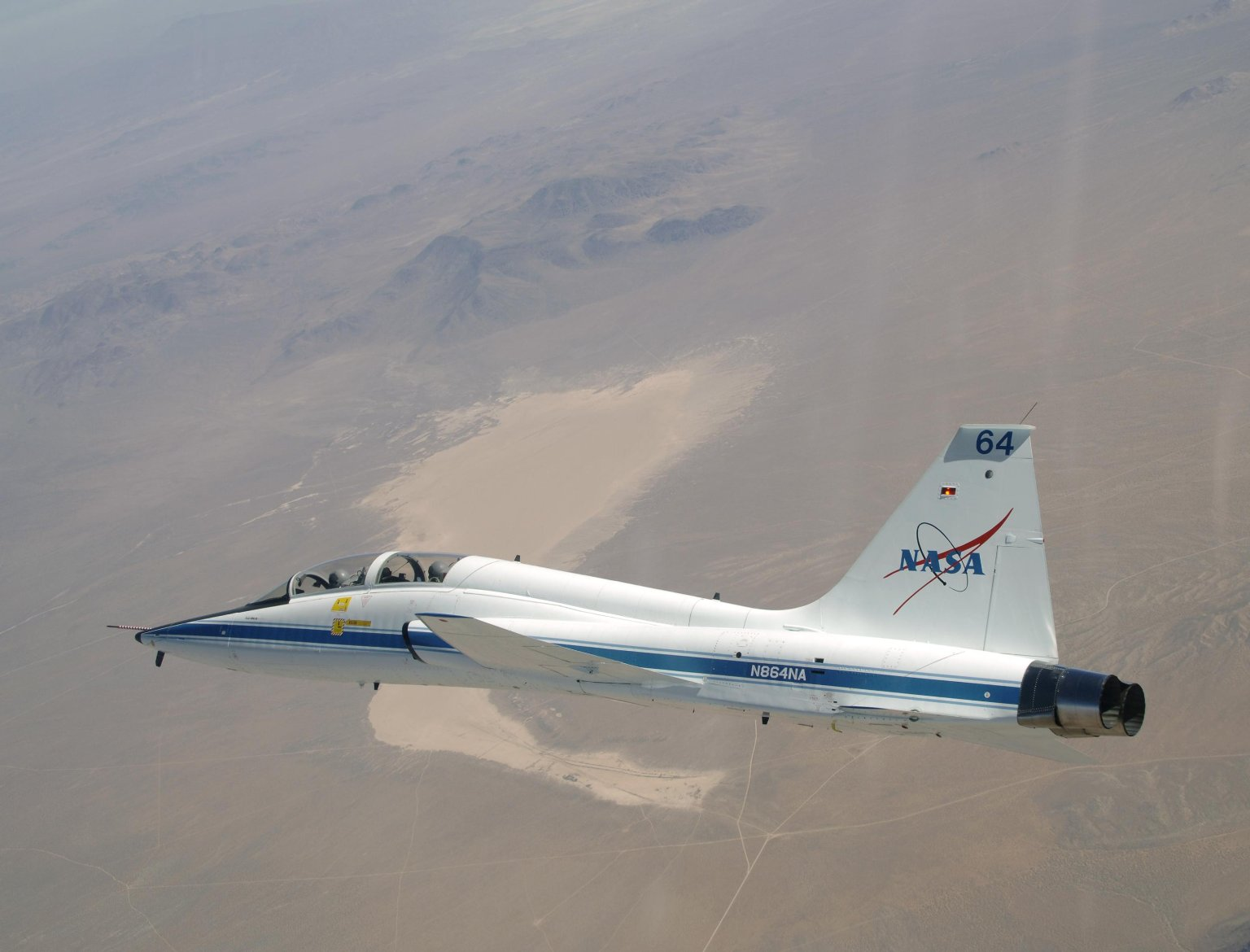 Northrop T-38 Talon During Mission Support Flight