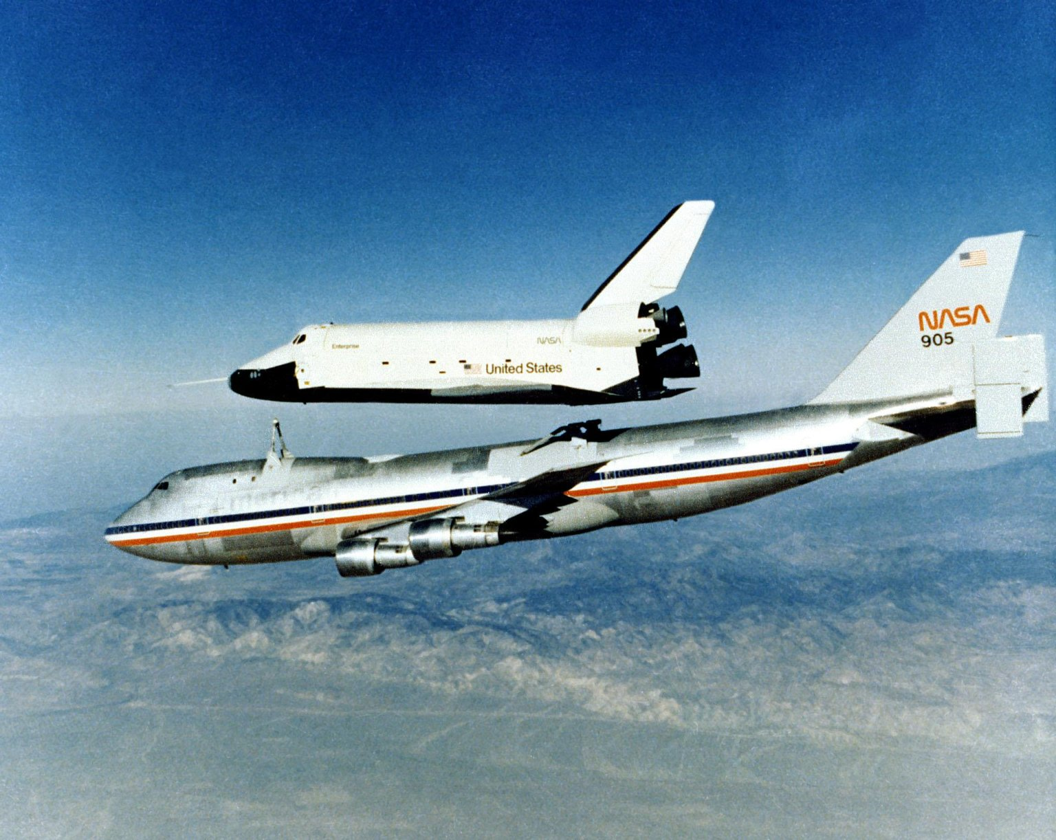 Approach and Landing Tests, Space Shuttle Support