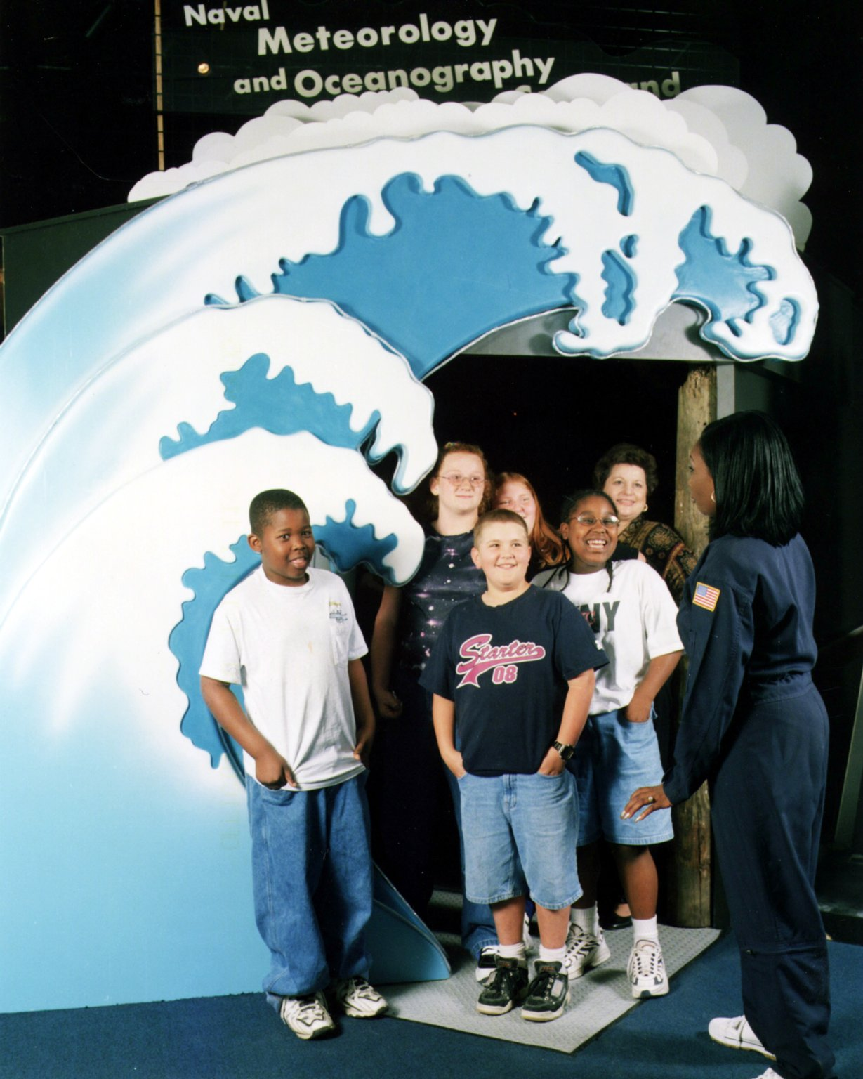 Naval Meteorology and Oceanography Command exhibit entrance