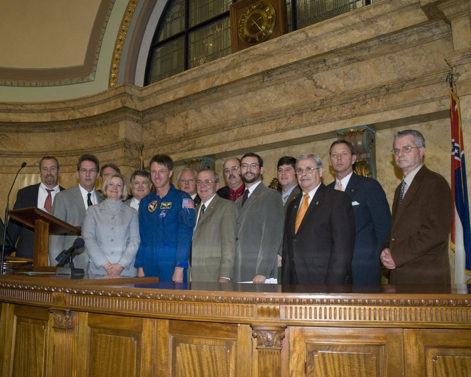 NASA Space Day in Mississippi - House of Representatives