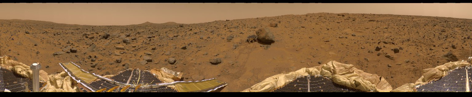 A Presidential Panorama of Mars