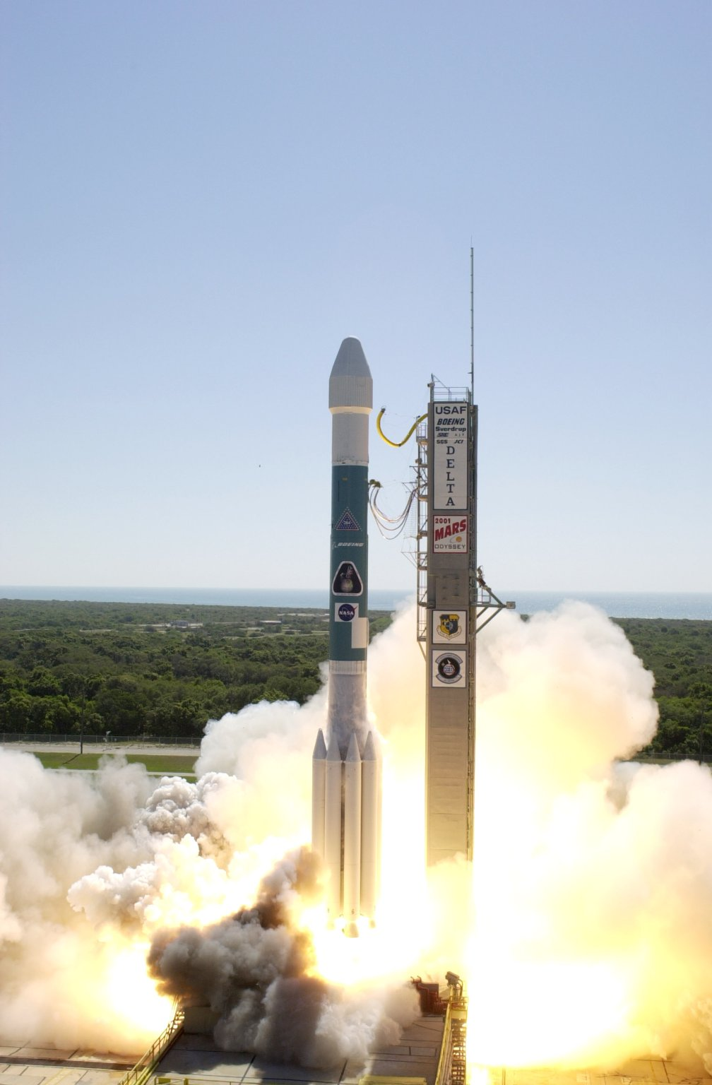 Mars Odyssey Lifts Off for Mars