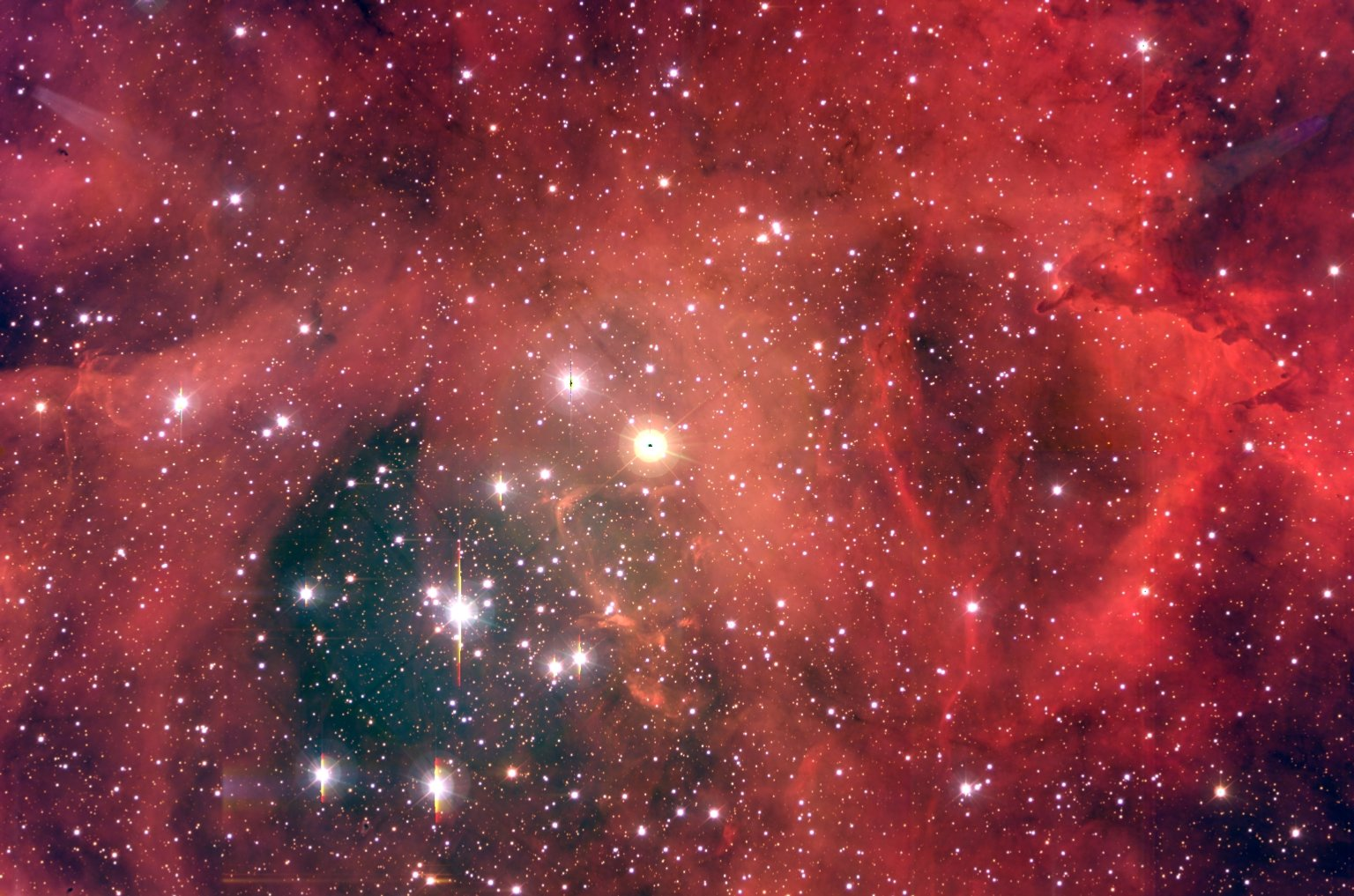 NGC 2244: A Star Cluster in the Rosette Nebula